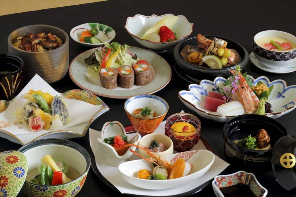 spread of Japanese traditional food from Kagoshima