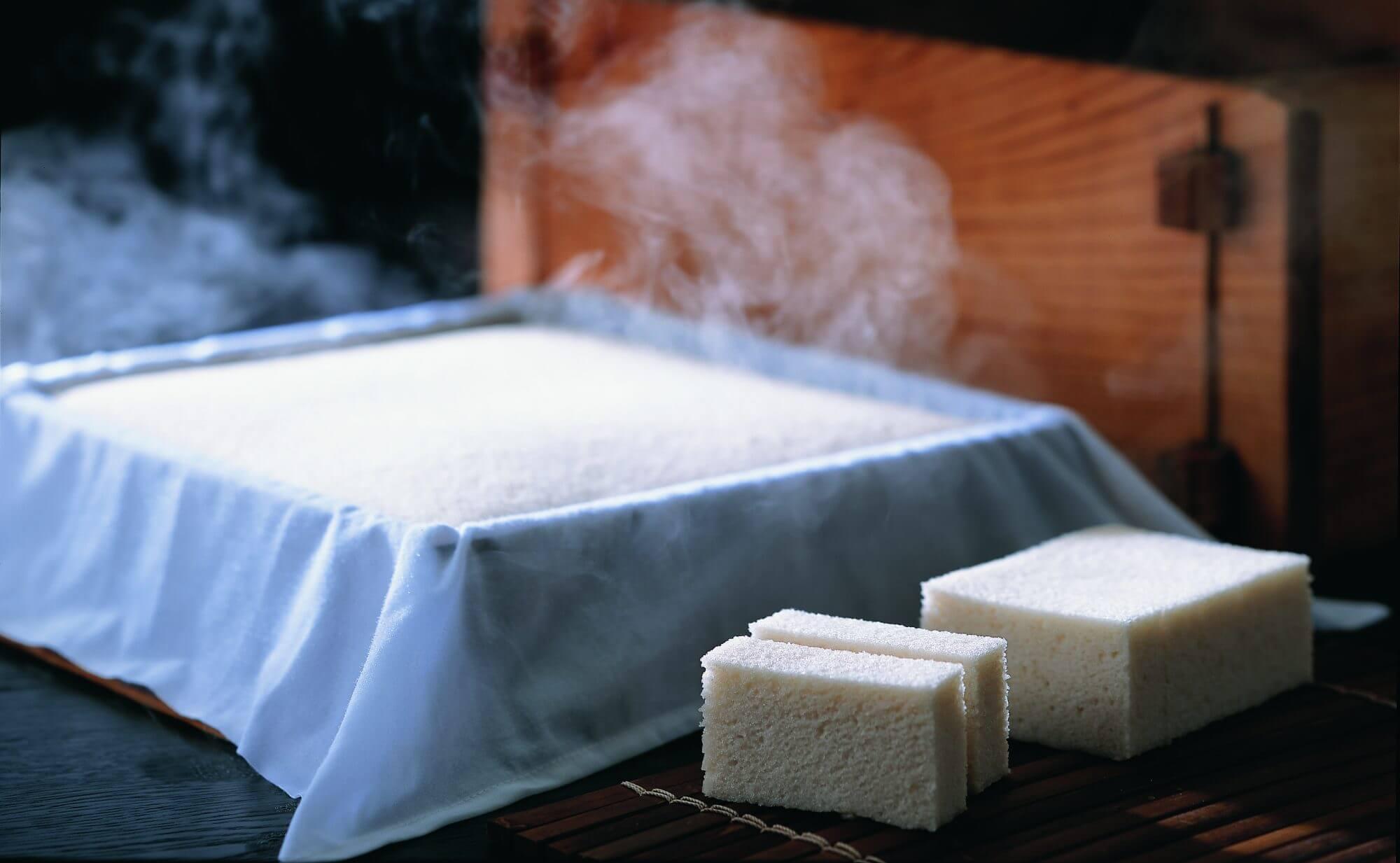 karukan Japanese traditional tea sweet
