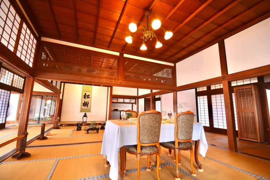 traditional Japanese room chair tables