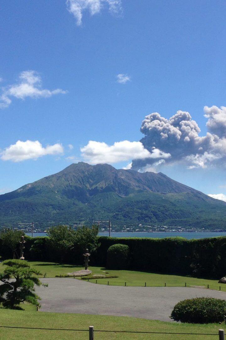 Impresionantes vistas de Sakurajima