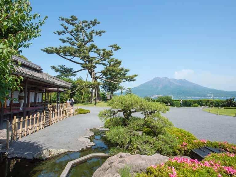 Casa señorial y jardines de la familia Shimazu