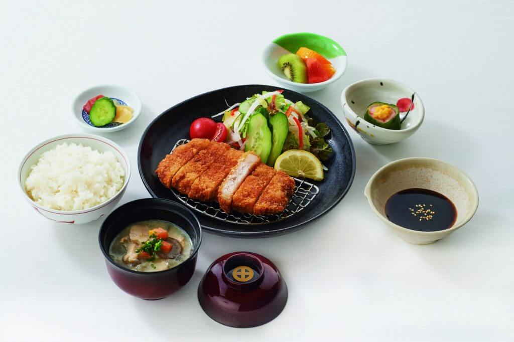 Kagoshima deep fried kurobuta pork tonkatsu