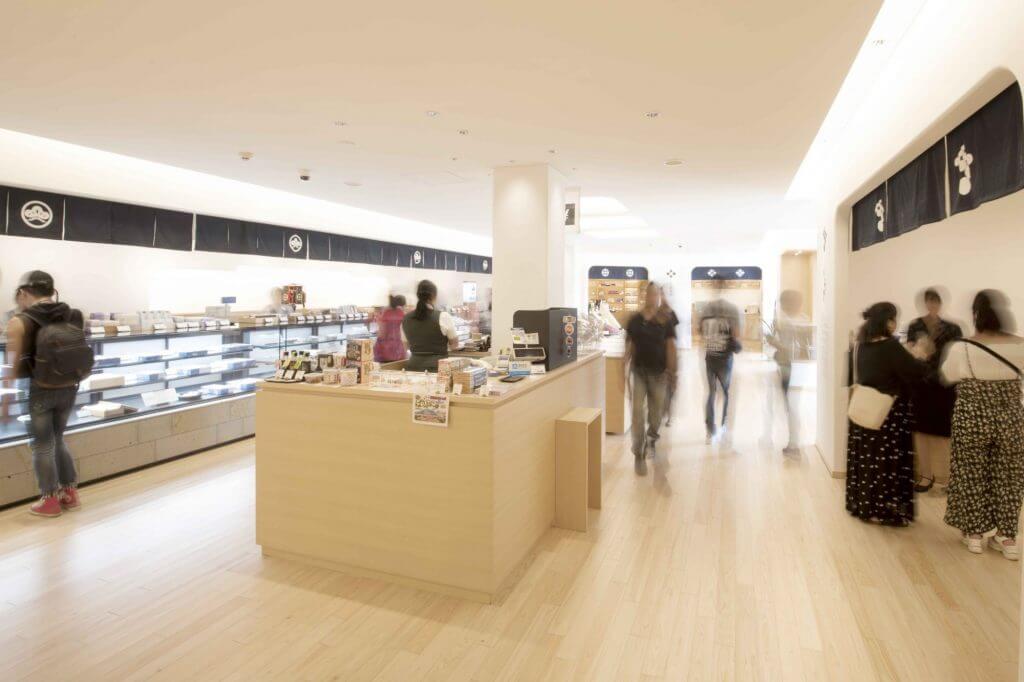 Shimadzu Gift Shops interior