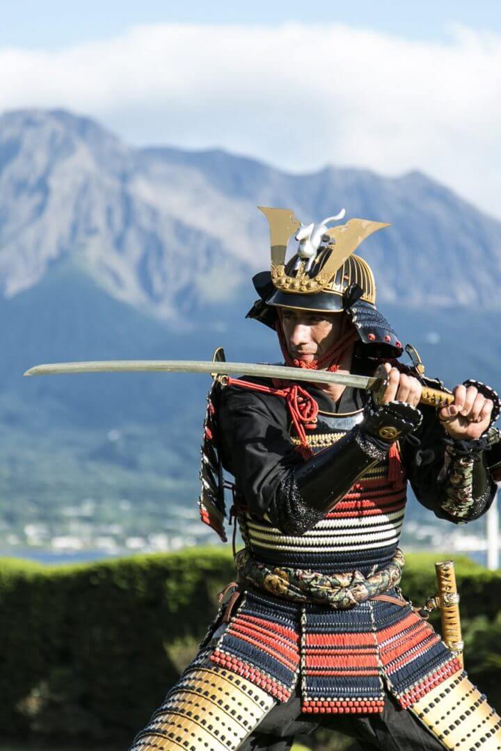 Expérience d'armure Samurai Shimadzu