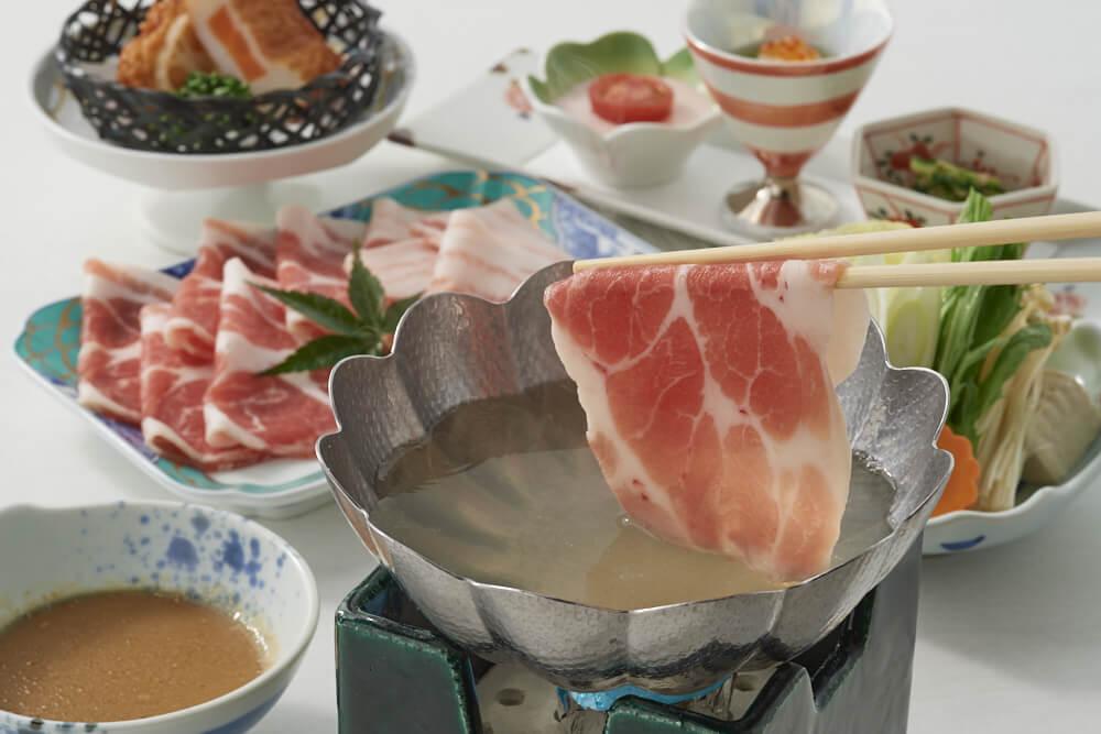 Kagoshima Kurobuta pork hotpot