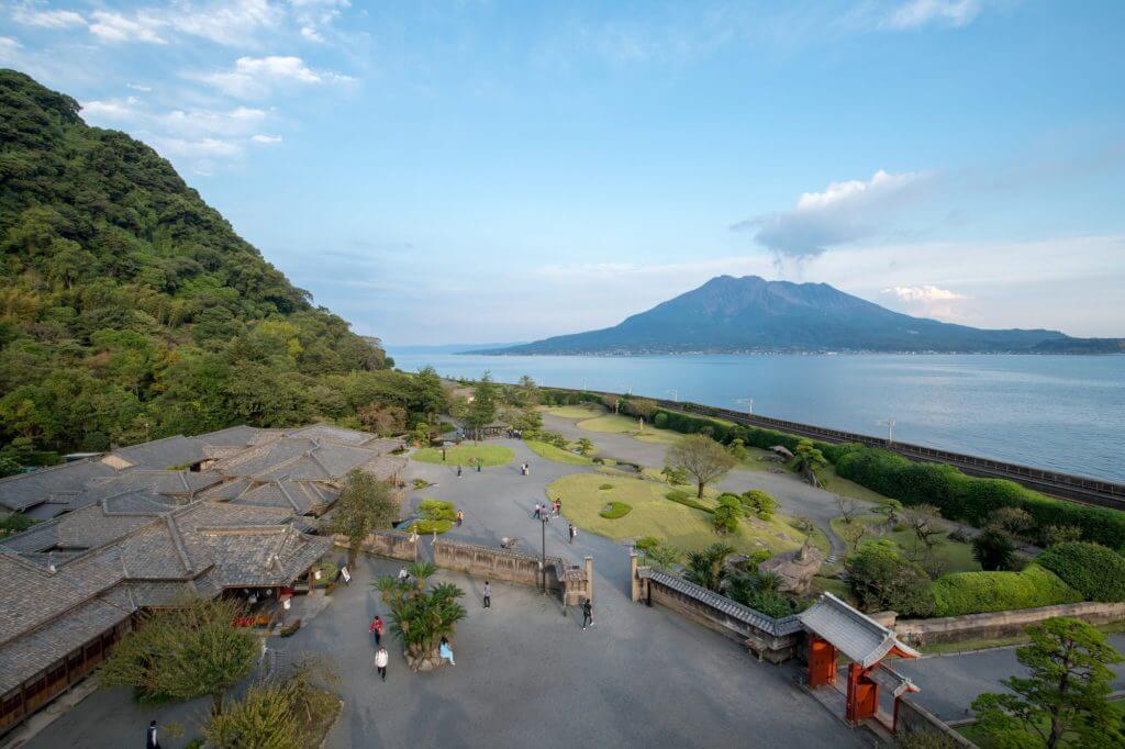 仙巌園 鹿児島