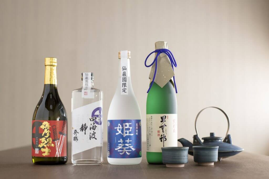 Kagoshima shochu selection