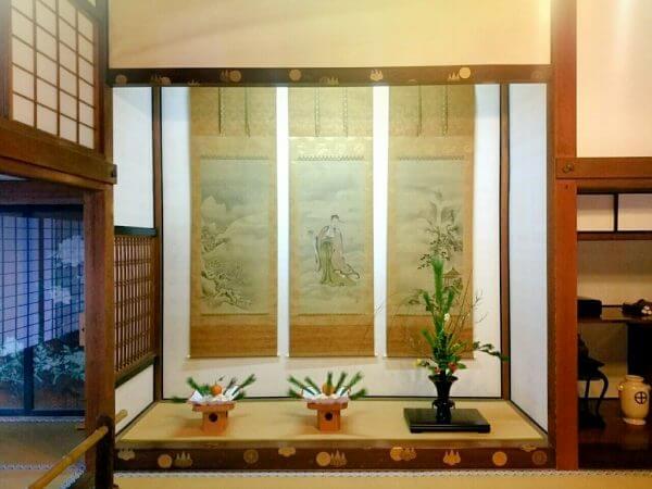 堅守傳統文化 島津家新年彩飾氣氛