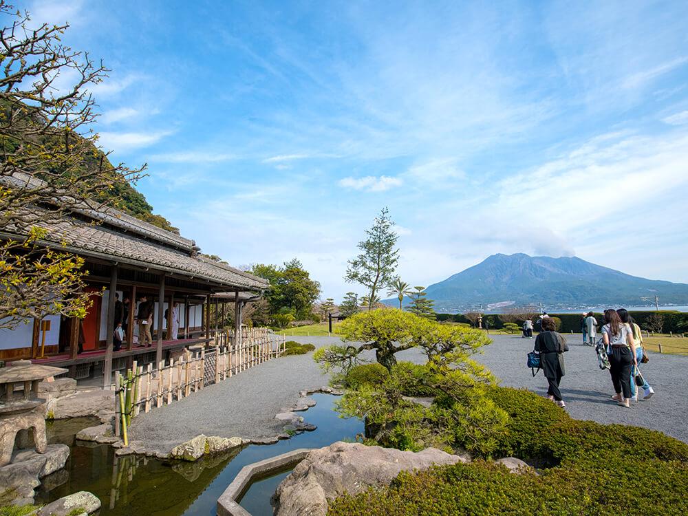 Demeure seigneuriale et jardins de la famille Shimadzu