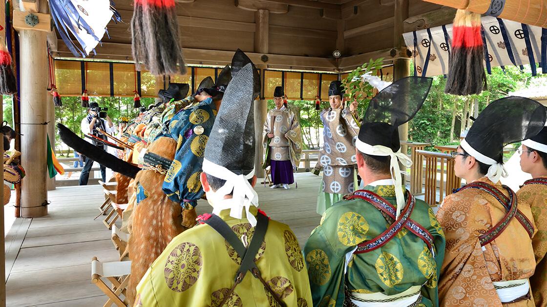 samurai shrine blessing