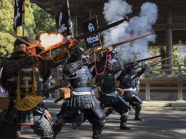 Shimadzu Yoshihiro Versus the Heavenly Kings
